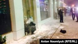 Игорь Каляпин после нападения в Грозном