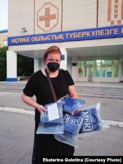 Екатерина Голотина, руководитель объединения волонтеров «AntiCovid-19».