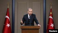 د ترکیې جمهور رئیس رجب طیب اردوغان