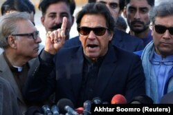 د تحریک انصاف ګوند مشر عمران خان