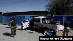 პაკისტანის ქალაქ კუეტაში 2017 წლის 9 ნოემბერს მოწყობილი აფეთქების ადგილი