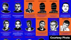 Лица, осужденные в Узбекистане по политическим и религиозным мотивам.