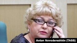 Российский сенатор Людмила Нарусова