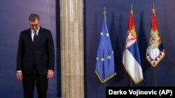 Президент Сербії Александар Вучич почав нараду з керівниками правоохоронних служб через затримання сербів у Косово
