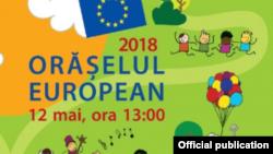 Afișul Orășelului European 2018