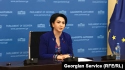 Пресс-конференция Эки Беселия