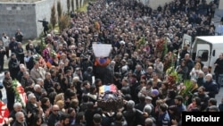 Armenia -- The funeral of Artur Sargsian, 22March, 2017.