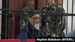 Azimjan Askarov in court on October 4