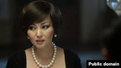 Қазақстандық продюсер әрі тележүргізуші Баян Есентаева.
