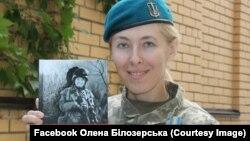 Олена Білозерська, доброволець ДУК ПС, офіцер ЗСУ, автор «Щоденника нелегального солдата»