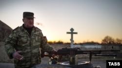 Сепаратист на Луганщині, архівне фото