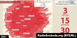 Покриття передавача: версія сепаратистів