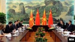 Премиерот Никола Груевски во Кина во потрага по странски инвестиции.