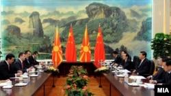 Македонска делегација во посета на Кина, за привлекување странски инвестиции.