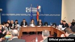 Переговоры Армения-Евросоюз по заключению соглашения об ассоциации. Ереван, 15 декабря 2010 г.