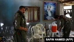 В лагере Рабочей партии Курдистана (РПК) в горах Кандиль на севере Ирака.