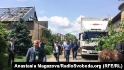Президент України Володимир Зеелнський перед з'їздом партії «Слуга народу»