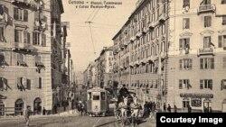 Genova în anii 1920 (Foto: Biblioteca Centrală Universitară, Iași)