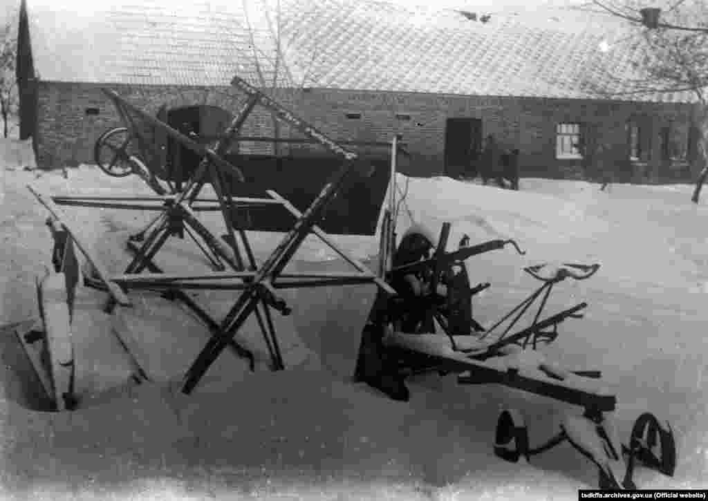 Бригадний двір в селі Удачне Донецької області, 1930-і роки