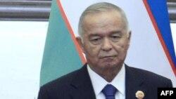 Өзбекстан президенті Ислам Каримов. 6 маусым 2012 жыл.