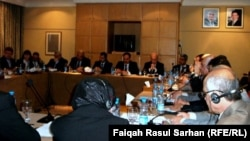 اجتماع وفدي العراق وصندوق النقد الدولي