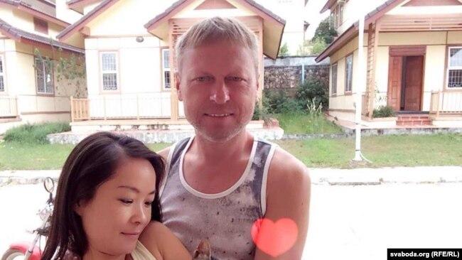 Ільля Шэўчык зь кітайскай жонкай