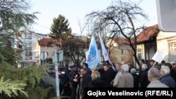 Ilustracija sa nedavnih protesta u Banjaluci