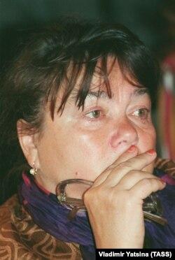 """Дорошина Нина - актриса московского театра """"Современник"""", 1995 год"""