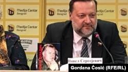 Pavel Sargejevič Dorohin na promociji knjige o Ratku Mladiću, Beograd