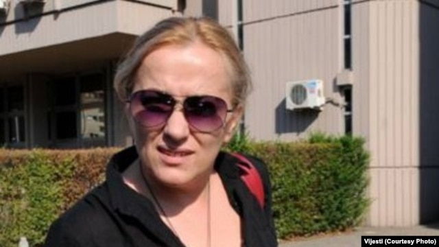 "Montenegro - Olivera Lakic, journalist for the newspaper, ""Vijesti."""
