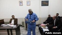 حمیدرضا جان قربان که به «اخلال اقتصادی» متهم شده است. عکس از: سایت «اصفهان امروز»