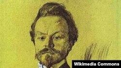Валентин Серов. Портрет Константина Бальмонта