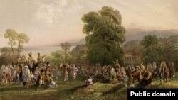 Карло Боссоли. «Татарский танец»