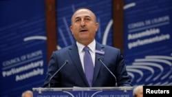 Ministri i Jashtëm i Turqisë, Mevlut Cavusoglu.