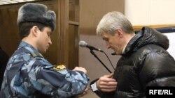 Платон Лебедев в Хамовническом суде Москвы, 31 марта 2009