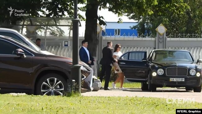 Цим же літаком дружина Фірташа неодноразово літала з Відня до Києва
