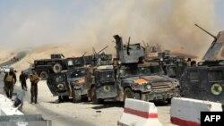 قوات عراقية تخوض معركة في الأنبار