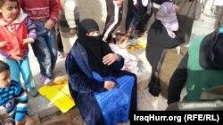 نازحون في مدينة الخالدية بمحافظة الأنبار