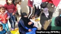 نازحون داخل مدارس وجوامع ورياض الأطفال في الخالدية شرقي الأنبار - كانون الثاني 2014