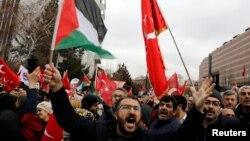 Demonstranti su izašli i na ulice turskih gradova, foto iz Ankare