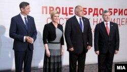 Иванов, Борисов, Грабар-Китаровиќ и Пахор на Самитот Брдо-Бриони во Скопје