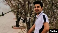 Pouya Bakhtiari was shot and killed during a large protest in the Iranian city of Mehrshahr on November 16. (file photo)