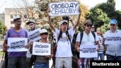 Ukraynada Oleh Sentsov-a azadlıq tələbilə yürüş, 21 avqust, 2018-ci il