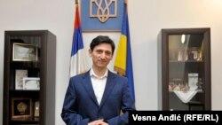 Посол Украины в Белграде Александр Александрович