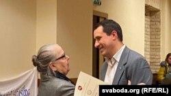 Івонка Сурвіла і Павал Севярынец