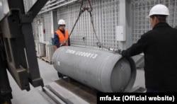 Хранилище низкообогащенного урана в Казахстане