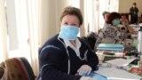 O secție de votare de la Hâncești, la începutul pandemiei, 15 martie 2020