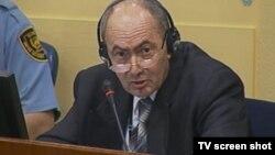 Zdravko Tolimir u sudnici 22. kolovoza 2012.