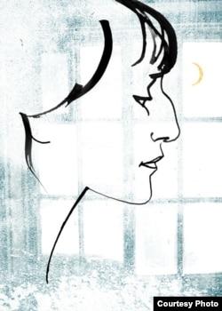 Анна Ахматова - рисунок художницы Арины Орловой