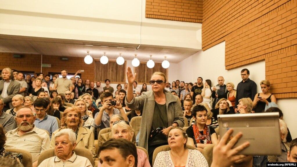 Грамадзкае абмеркаваьне забудовы Асмалоўкі ў Менску, чэрвень 2017